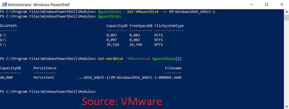 VMware PowerCLI