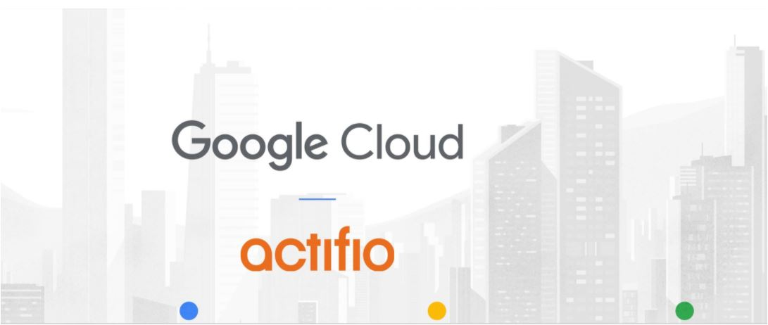 Google and Actifio