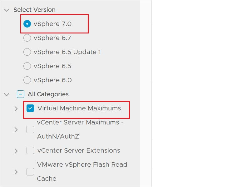 vSphere 7.0 and Virtual Machine